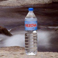 printed labels for bezoya mineral water