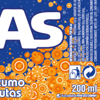 Die cut label for kas