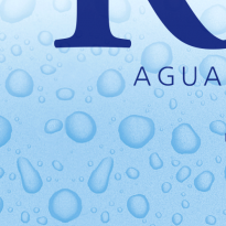 water bottle labels for aigua de ribes