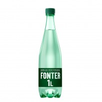 Labels for water bottle Fonter